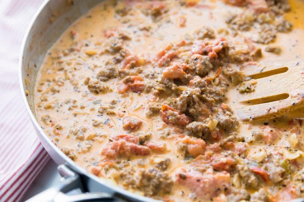 Sausage pasta recipe