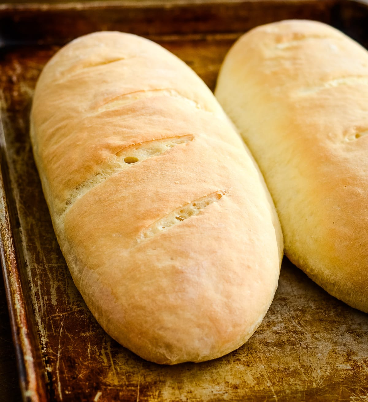 Italian Bread Loaves Only 6 Ingredients Lil Luna