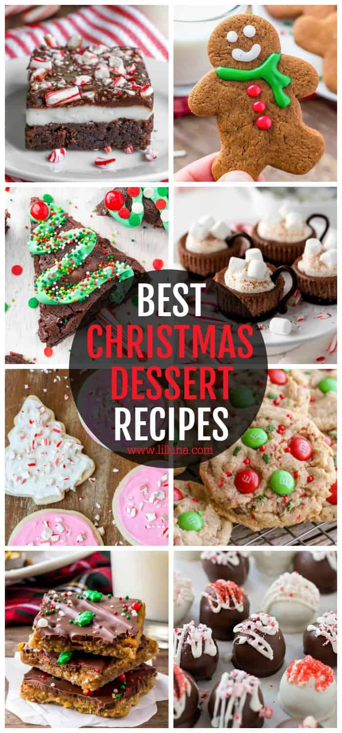 50 Best Christmas Desserts Cookies Cakes More Lil Luna