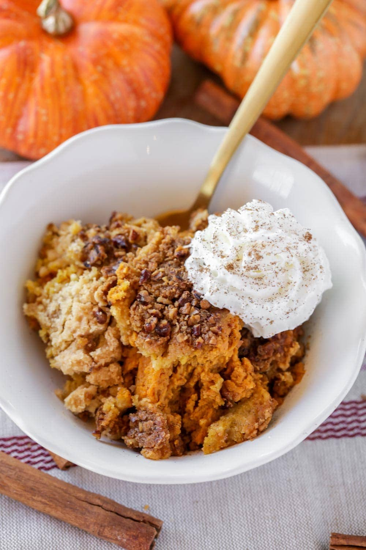 Easy pumpkin cobbler recipe