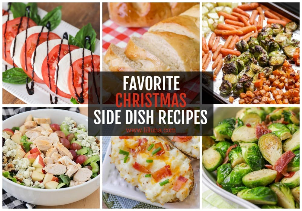 30+ Christmas Side Dishes {Salads