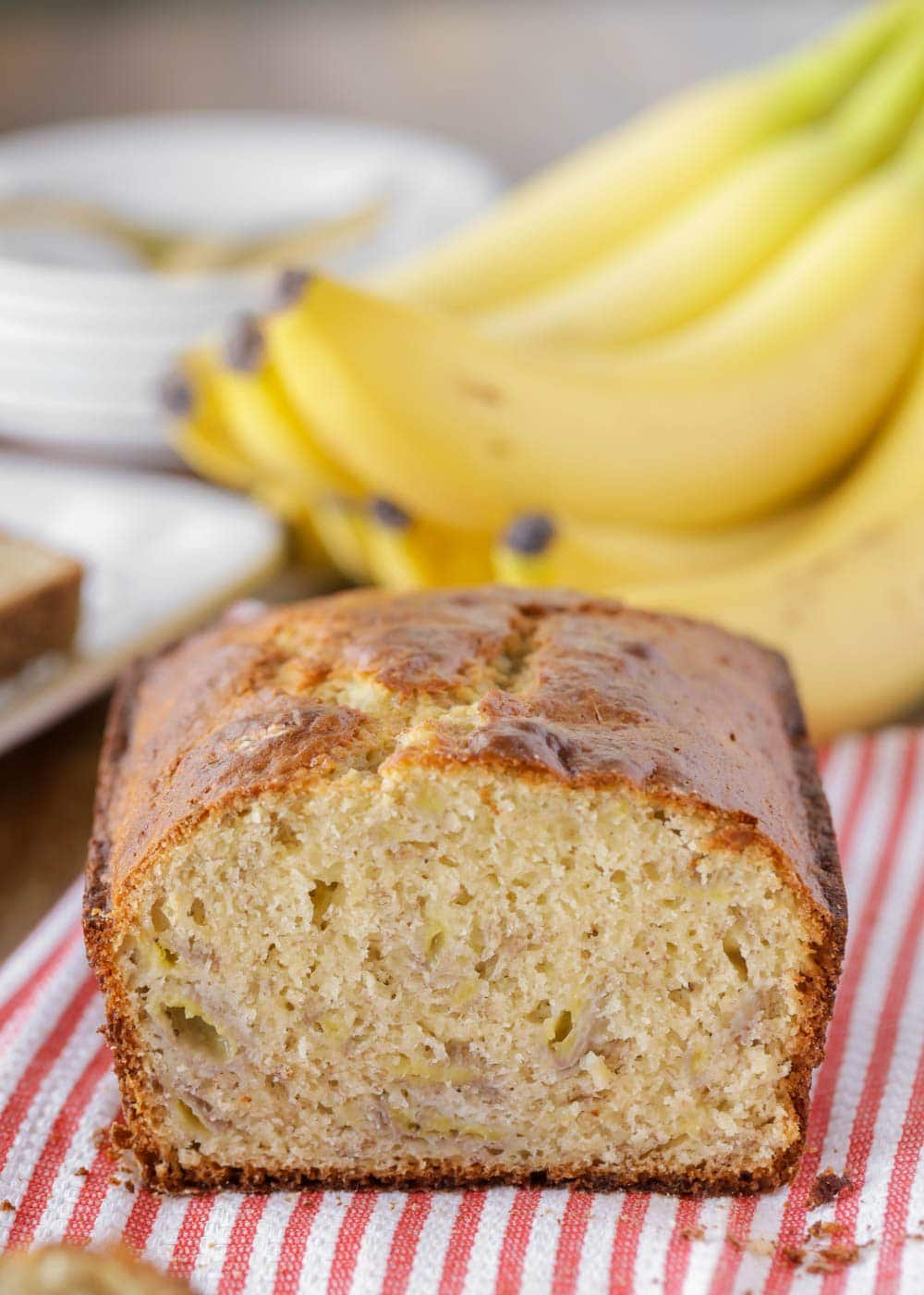 Banana bread made with bisquick