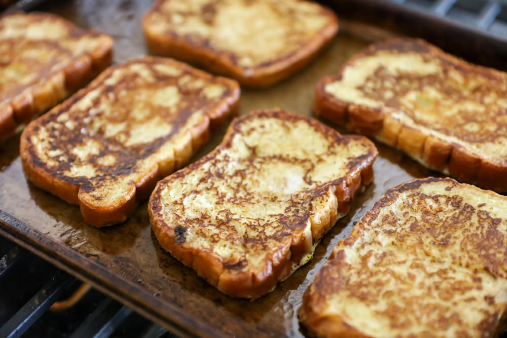 Brioche bread french toast