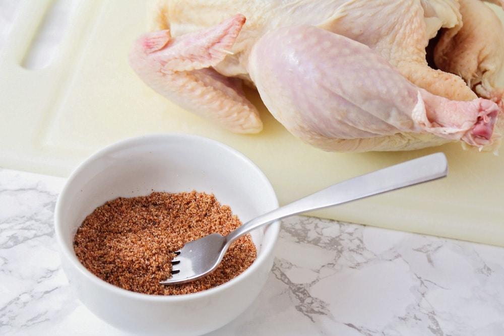 Seasoning for crockpot roasted chicken
