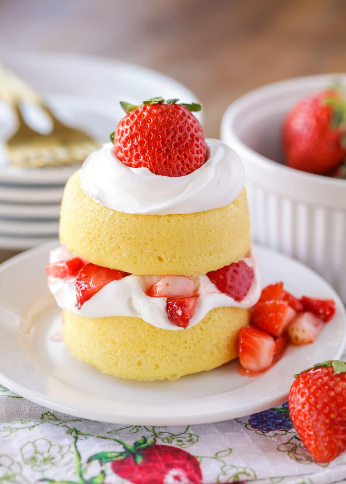 Easiest Strawberry Shortcake Recipe Lil Luna