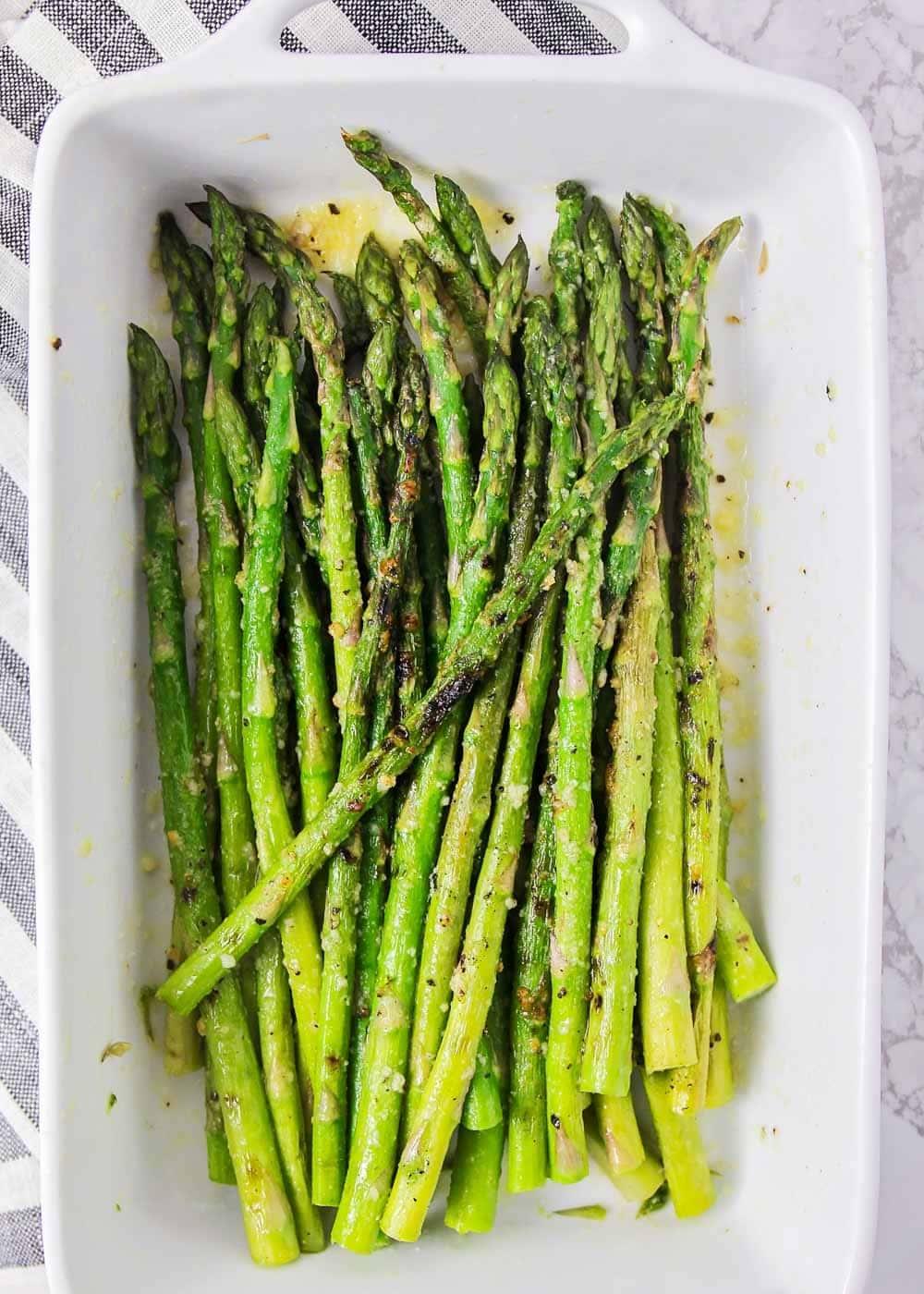 Easy Grilled Asparagus Recipe Lil Luna