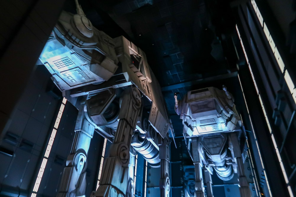 AT-ATs on Rise of the Resistance