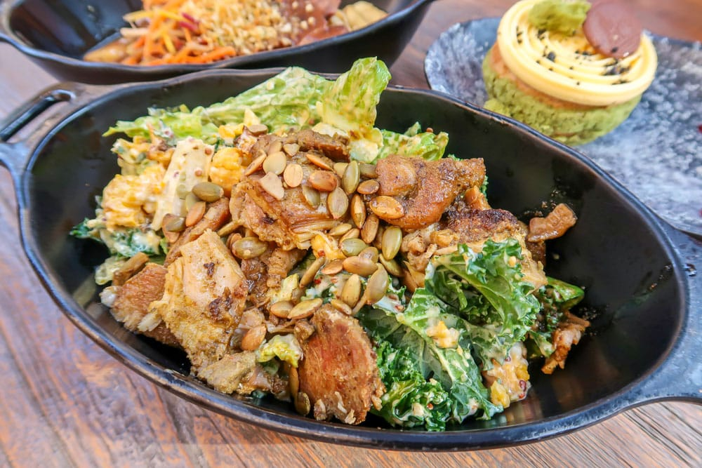 Endorian Roasted Chicken Salad
