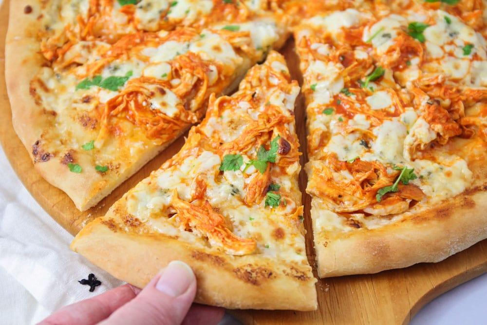Homemade Buffalo Chicken Pizza Recipe Lil Luna