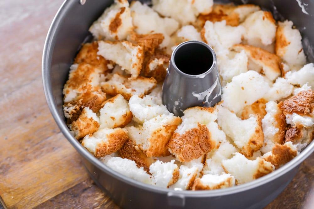 Grandma S Angel Food Ice Cream Cake Recipe Lil Luna
