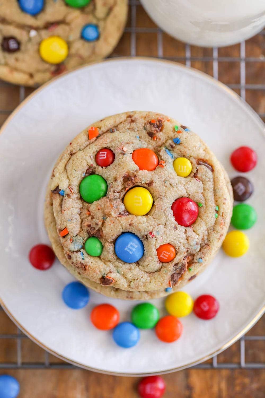 Best M M Cookies Recipe Video Lil Luna