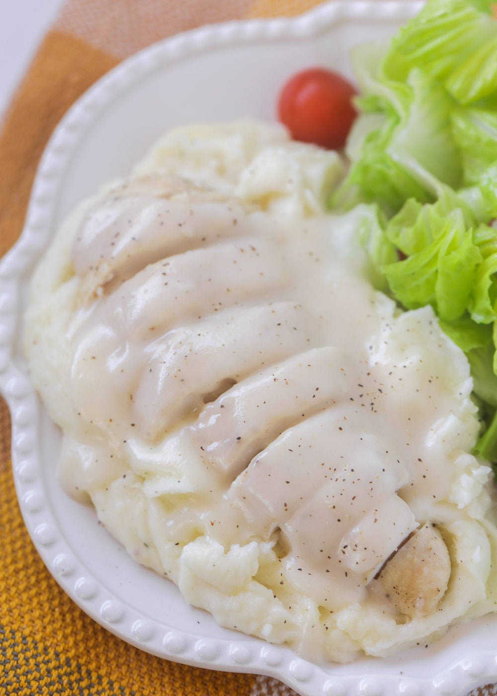 Easy Chicken Gravy Recipe No Drippings Lil Luna