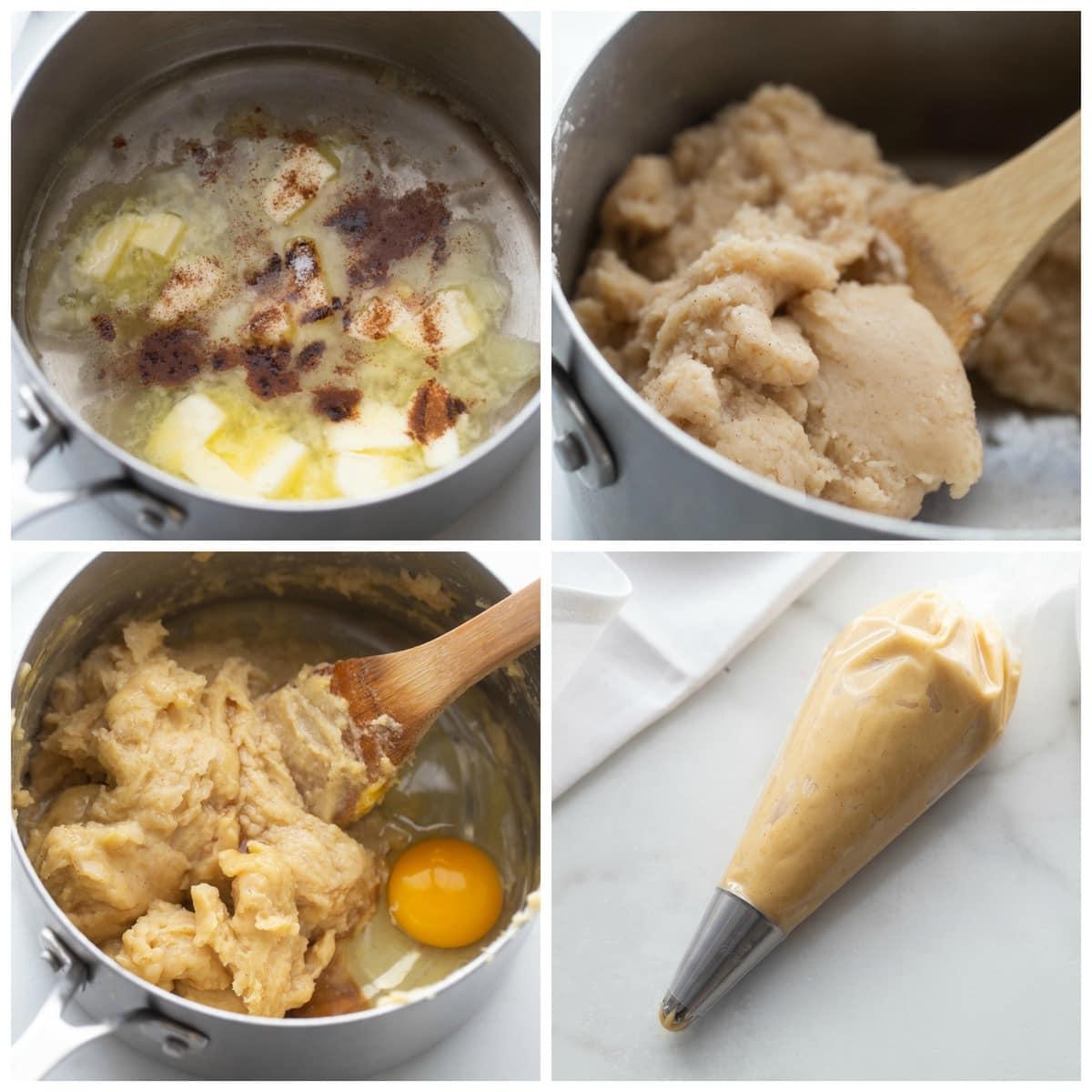 How to make churros process pics