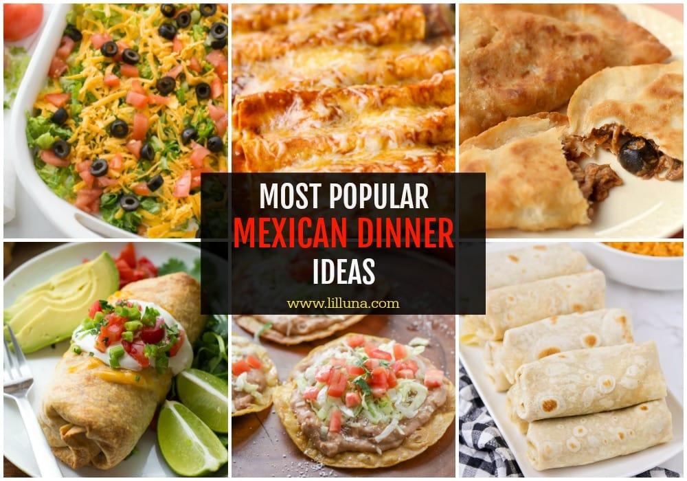 Mexican dinner ideas