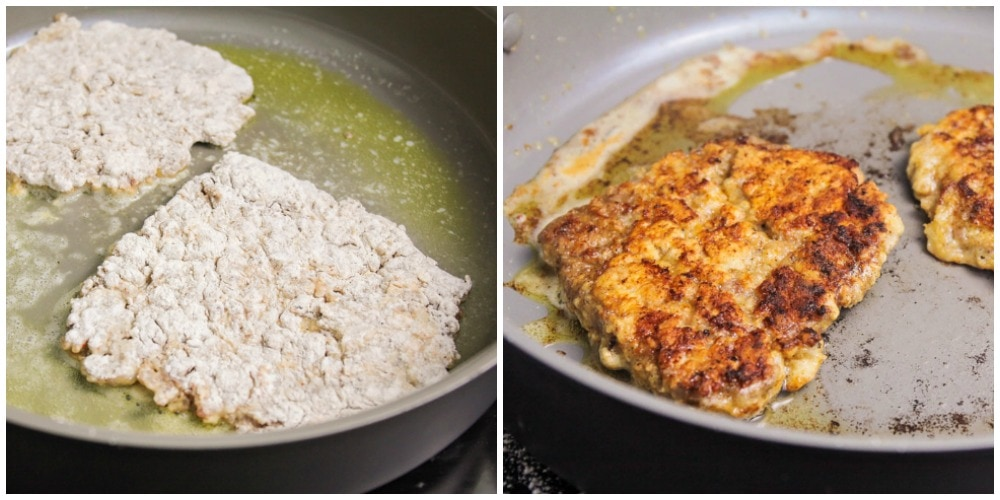 How to make chicken fried steak in a frying pan