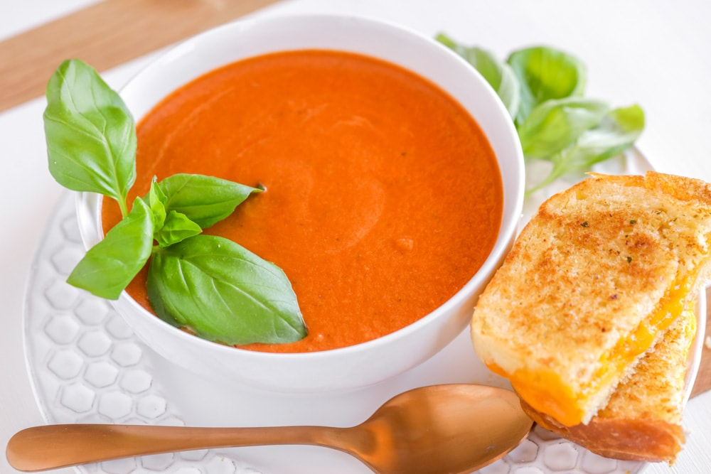 Grilled cheese and tomato soup recipes