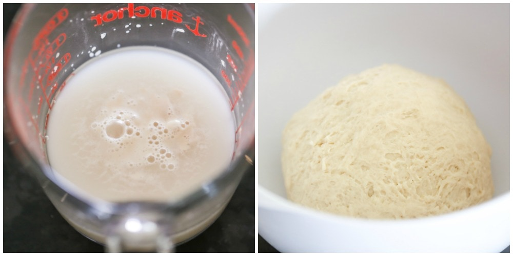 How to make beignets process pic