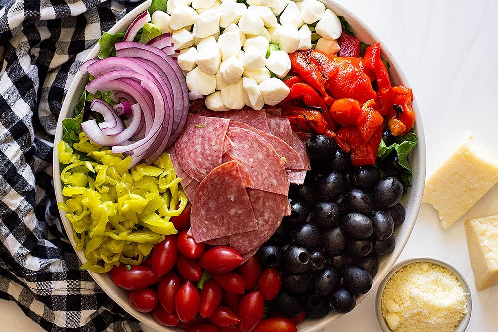 Antipasto salad recipe ingredients