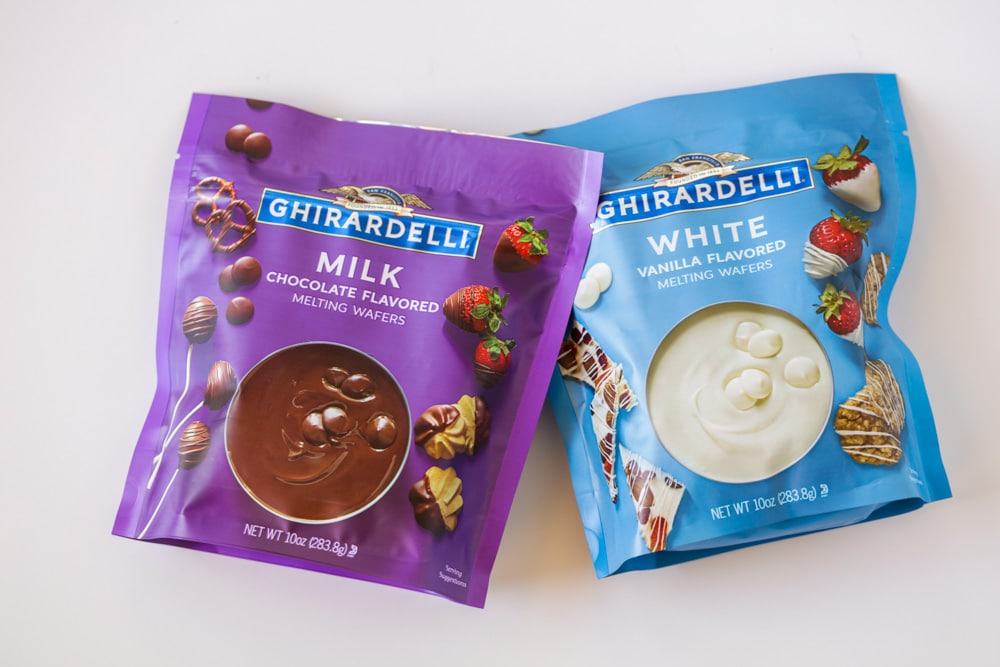 Ghirardelli melting wafers