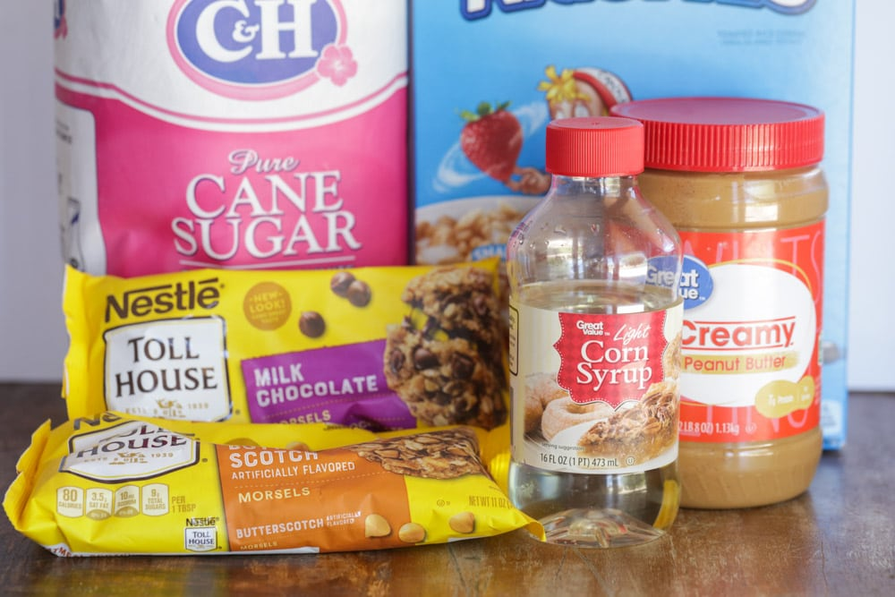 Scotcheroos ingredients