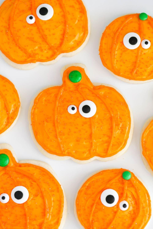 Halloween sugar cookie recipe