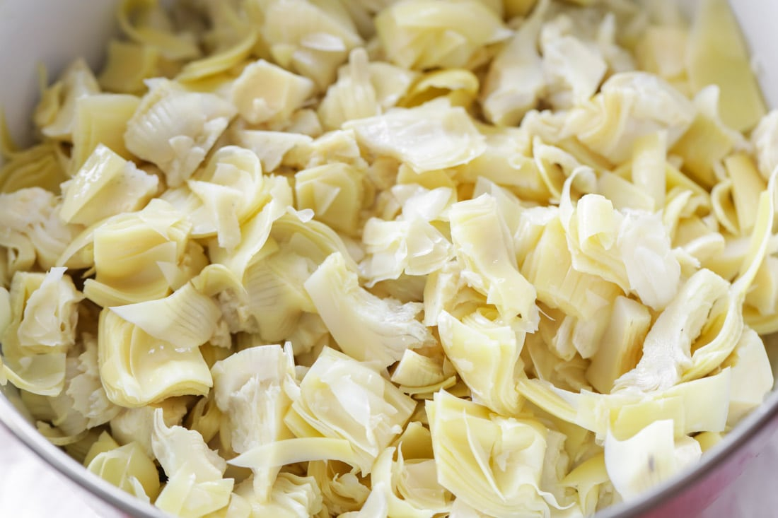 Artichoke hearts for slow cooker artichoke dip
