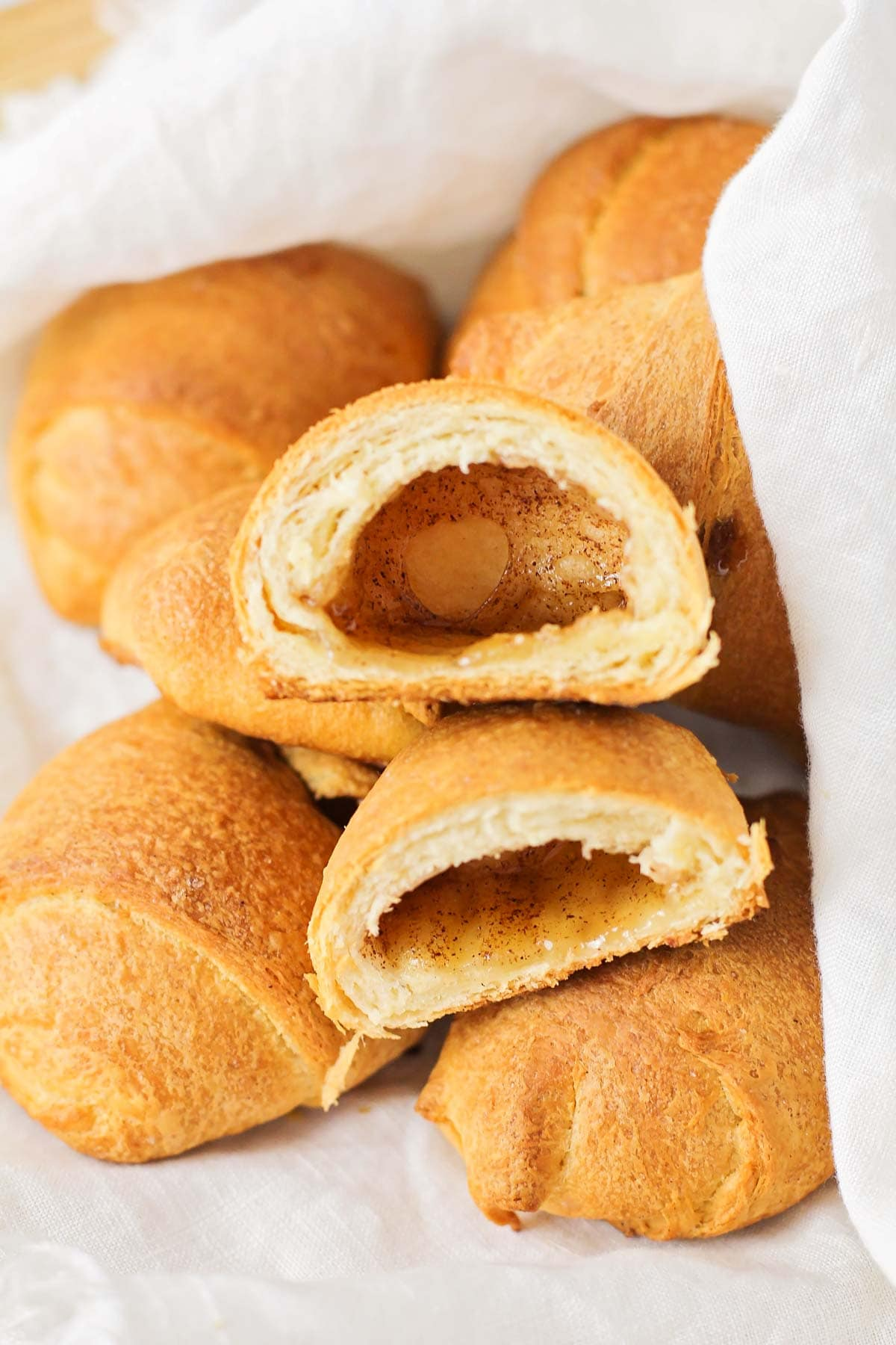 Resurrection rolls made from crescents