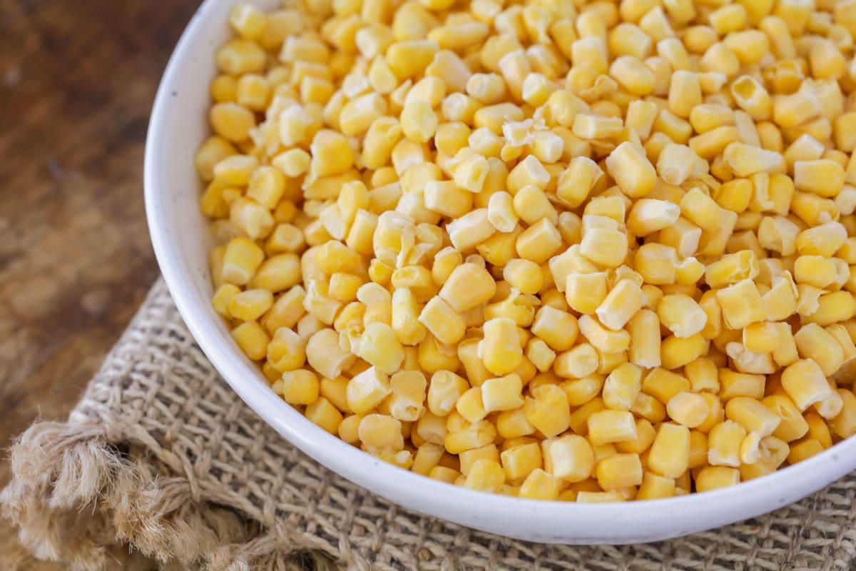 Corn kernels for esquites recipe