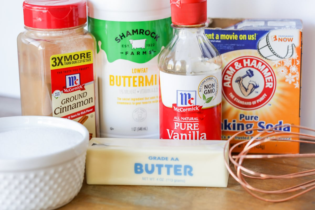 cinnamon buttermilk syrup ingredients