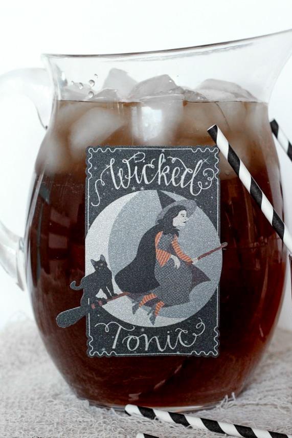 Ghoul-aid recipe in pitcher