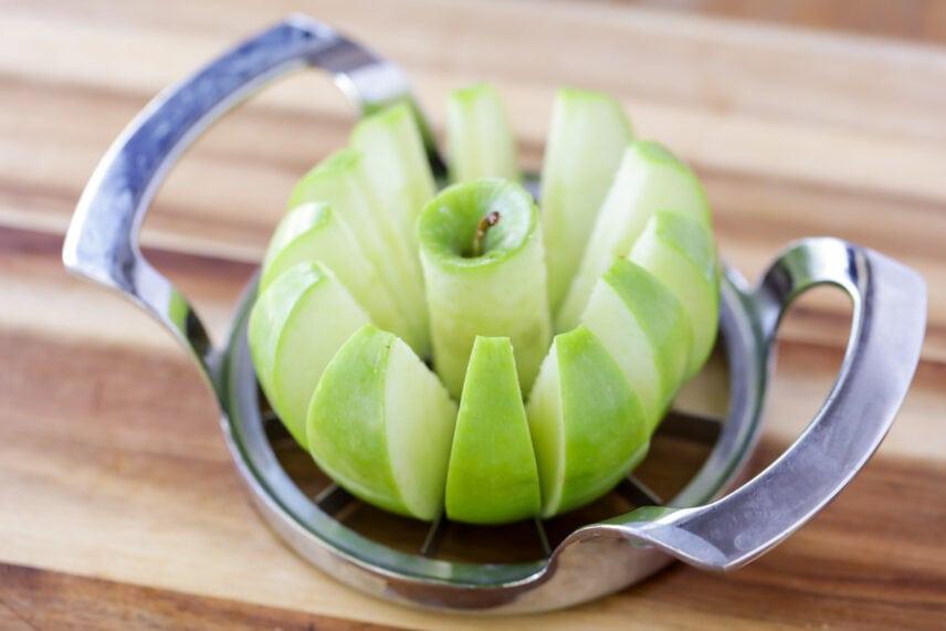 Apple sliced