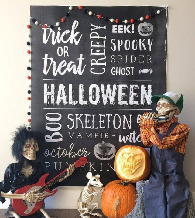 Giant Halloween Poster