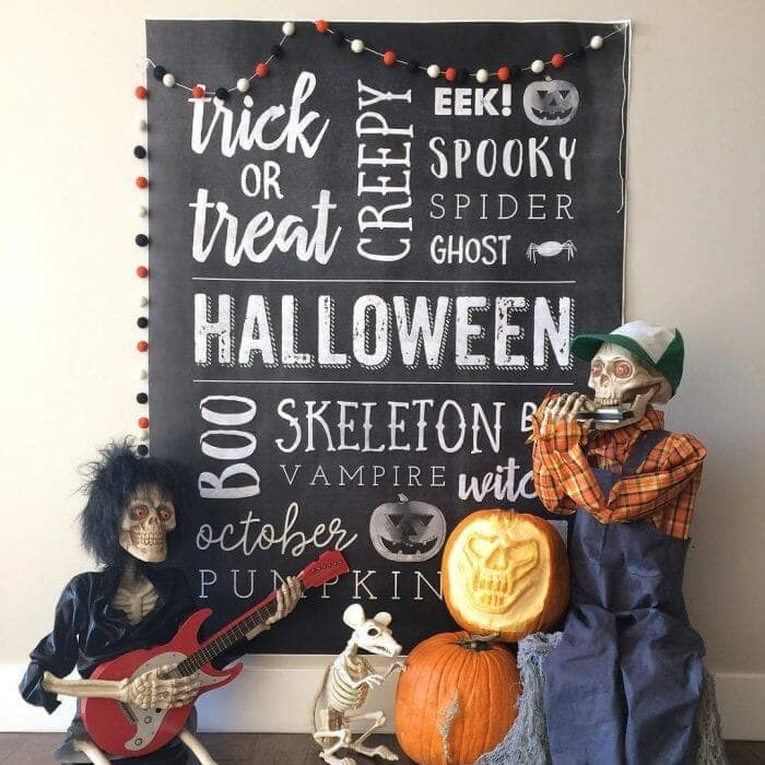 Giant Halloween Poster
